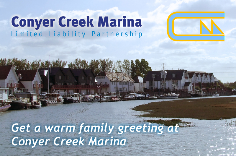 Conyer Creek Marina : First choice for Boat Mooring in North Kent